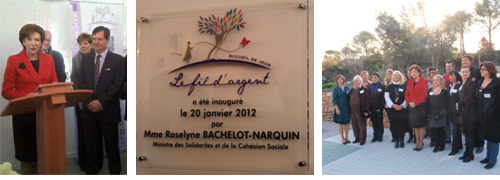 inauguration fil d'argent